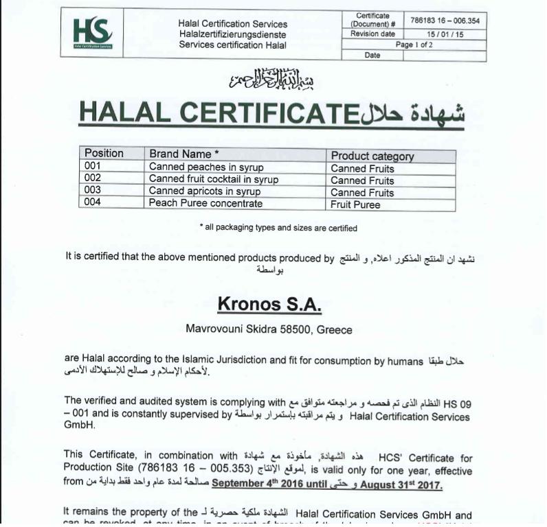 Kronos Halalfood